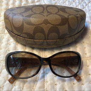 Coach • Tortoise Shell Kendall Sunglasses